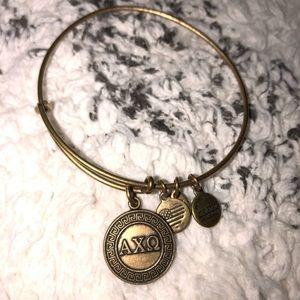 Alpha Chi Omega Alex and Ani bracelet